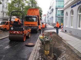 Bewehrung Straßenneubau Aachen
