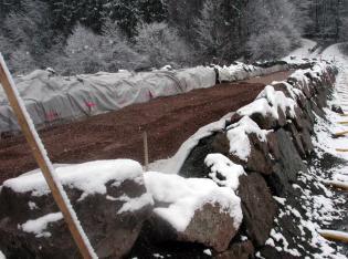 Hochwasserschutz: Dammerhöhung
